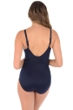 Miraclesuit Lucky Stripe Seafarer V-Neck One Piece Swimsuit