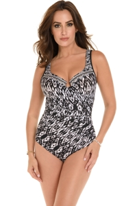 Miraclesuit Tiki Escape Underwire One Piece Swimsuit