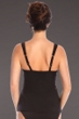 Miraclesuit Black Four Tops Love Knot Underwire Tankini Top