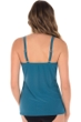 Miraclesuit Nile Blue Four Tops Love Knot Underwire Tankini Top