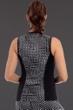 Miraclesuit Grid Lock Active Sleeveless Full Zip Rash Guard