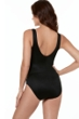 Miraclesuit Gilt Trip Brio Layered High Neck Underwire One Piece Swimsuit