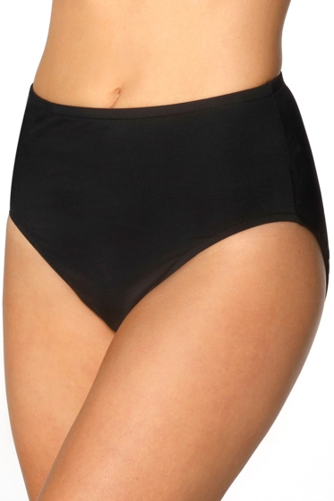Miraclesuit Black Classic Brief Tankini Bottom