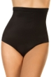 Miraclesuit Black Super High Waisted Brief Tankini Bottom