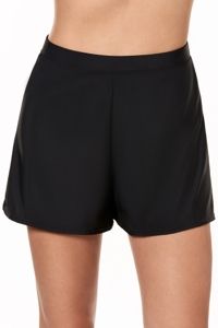 Miraclesuit Black Loose Swim Shorts
