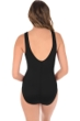 Miraclesuit Illusionist Black Palma Mesh High Neck One Piece Swimsuit
