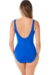 Miraclesuit Delphine Blue Must Have Oceanus Surplice One Piece Swimsuit