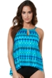 Miraclesuit Cabana Chic DD-Cup Peephole Underwire Tankini Top