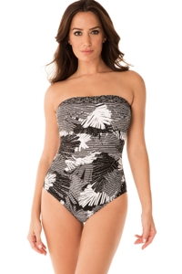 Miraclesuit Moonlight at the Oasis Avanti Underwire One Piece Swimsuit