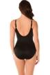 Miraclesuit Madagascar Color Block Oceanus Surplice One Piece Swimsuit