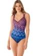 Miraclesuit Vesuvio It's A Wrap Underwire One Piece Swimsuit