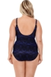 Miraclesuit Blue Curacao Plus Size Seraphina Underwire One Piece Swimsuit