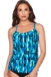 Trimshaper by Magicsuit Waterfall Emily Ruffle Tiered Tankini Top