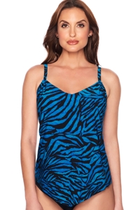 Trimshaper by Magicsuit Zulu Hank Tankini Top