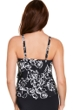 Trimshaper by Magicsuit Water Lily Lena Ruffle Tiered Tankini Top
