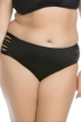 Becca ETC by Becca Virtue Electric Current Plus Size Side Shirred Hipster Bikini Bottom