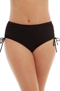Caribbean Joe Plus Size Adjustable Side Tie Tankini Bottom