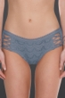Becca by Rebecca Virtue Steel Color Play Lace Strappy Sides Hipster Bikini Bottom
