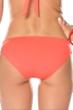 Becca by Rebecca Virtue Electric Current Persimmon Macrame Hipster Bikini Bottom