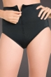 Chlorine Resistant Active Spirit Black Zip Front Techkini Swim Bottom