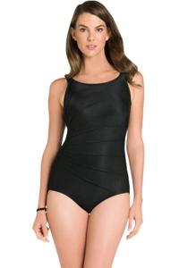 Chlorine Resistant Active Spirit Radiance High Neck One Piece Swimsuit
