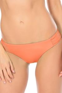 Becca by Rebecca Virtue Color Code American Side Shirred Bikini Bottom
