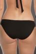 Becca by Rebecca Virtue Black Color Code Shirred Tab Side American Hipster Bikini Bottom