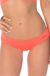 Becca by Rebecca Virtue Color Code Persimmon Hipster Bikini Bottom