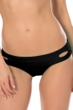 Becca by Rebecca Virtue Black Color Code Keyhole Hipster Bikini Bottom