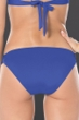 Becca by Rebecca Virtue Azure No Strings Attached Macrame Tab Side American Hipster Bikini Bottom