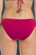 Becca by Rebecca Virtue Raspberry Medina Crochet Tab Side American Hipster Bikini Bottom