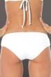 Becca by Rebecca Virtue Color Code White Keyhole Hipster Bikini Bottom