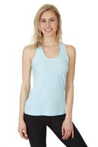 X by Gottex Light Aqua Shaper Racerback Tank Top