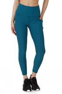 X by Gottex Light Peacock Vanessa Ankle Legging with Pockets