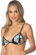 Bikini Lab 40 Flower Week Triangle Bikini Top