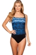 Miraclesuit Indigo Go DD-Cup Fauxkini One Piece Swimsuit