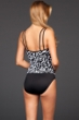 Miraclesuit Go Boldly D-Cup Fauxkini One Piece Swimsuit