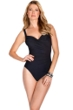 Miraclesuit Black Long Torso Sanibel Underwire One Piece Swimsuit