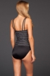 Miraclesuit Spot On D-Cup Fauxkini One Piece Swimsuit