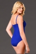 Miraclesuit Blue DD-Cup Rialto One Piece Swimsuit