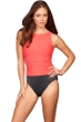 Miraclesuit Coral D-Cup Regatta Underwire High Neck Swimsuit