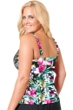 Miraclesuit Floral Majority Plus Size Roswell Tankini Top