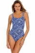 Miraclesuit Majorca Karavelle Square Neck Underwire One Piece Swimsuit