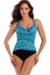 Miraclesuit Night Lights DD-Cup Layered Escape Underwire One Piece Swimsuit