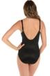 Miraclesuit Mediterra Long Torso Sanibel Surplice Underwire One Piece Swimsuit