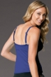 Miraclesuit Navy DD-Cup Roswell Underwire Tankini Top Navy