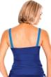 Miraclesuit Marine Blue Colorblock Duzette Tankini Top