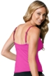 Miraclesuit Fuchsia D-Cup Roswell Underwire Tankini Top