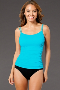 Miraclesuit Aqua SoFaux DD-Cup Underwire One Piece Swimsuit