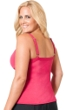 Miraclesuit Berry Plus Size Roswell Underwire Tankini Top
